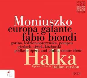 Moniuszko: Halka (4 Act Italian Version) Product Image