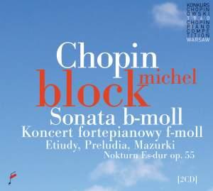 Chopin: Piano Sonata No. 2 & Piano Concerto No. 2
