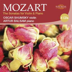 Mozart -The Sonatas for Violin & Piano