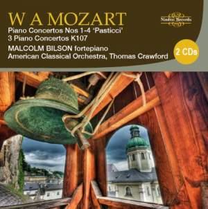 Mozart: Piano Concertos Nos. 1-4 'Pasticci' & 3 Piano Concertos K107