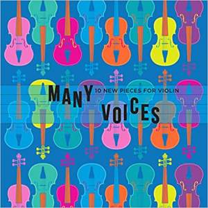 Many Voices 10 New Pieces For Violin