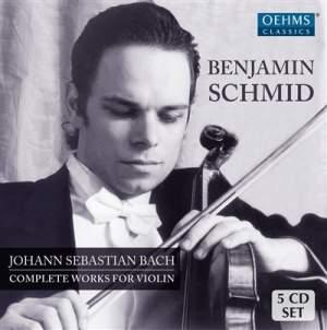 JS Bach: Complete Works for Violin