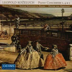 Kozeluch - Piano Concertos Product Image