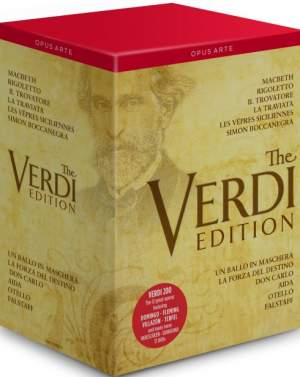 The Verdi Edition: The 12 Great Operas