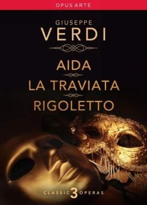 Verdi Operas: Aida, Traviata, Rigoletto