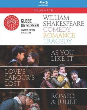 Shakespeare: Comedy, Romance, Tragedy Product Image