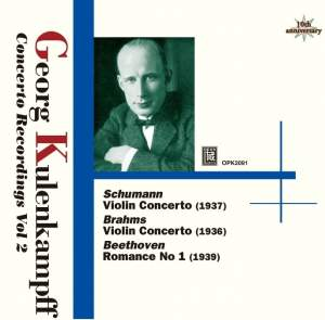 Kulenkampff Violin Concerto Recordings Volume 2
