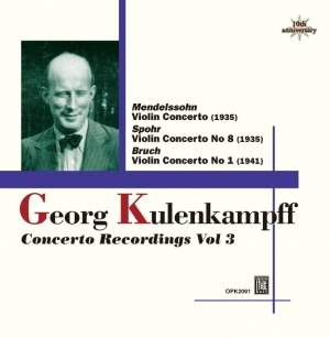 Kulenkampff Violin Concerto Recordings Volume 3