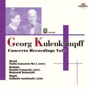 Kulenkampff Violin Concerto Recordings Volume 5