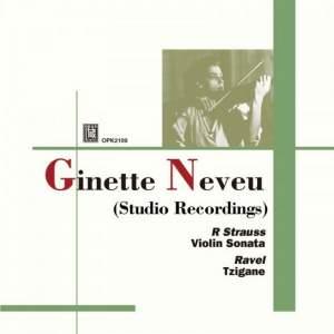 Ginette Neveu: Studio Recordings Product Image