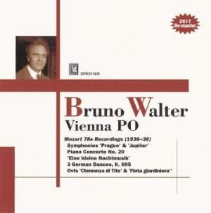 Bruno Walter & Vienna PO: Mozart 78s Recordings Product Image
