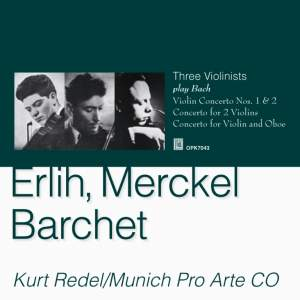 Three Violinists Play Bach