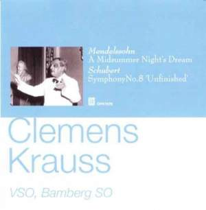 Clemens Krauss conducts Mendelssohn and Schubert