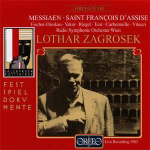Messiaen: Saint François d'Assise