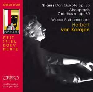 R. Strauss: Don Quixote & Also Sprach Zarathustra