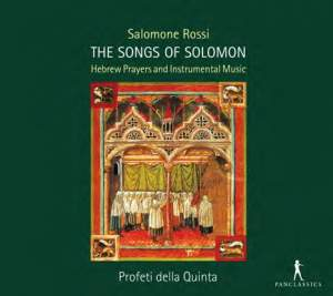 Rossi, S: The Songs of Solomon