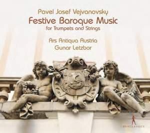 Vejvanovsky: Festive Baroque Music for trumpets and strings
