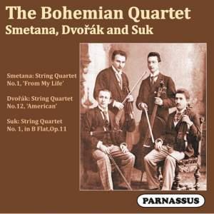 The Bohemian Quartet play Smetana, Dvořák, & Suk