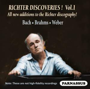 Sviatoslav Richter: Discoveries Vol. 1
