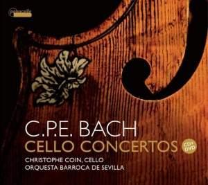 CPE Bach: Cello Concertos Product Image