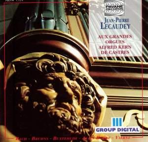 Jean-Pierre Lecaudey: Organ Recital