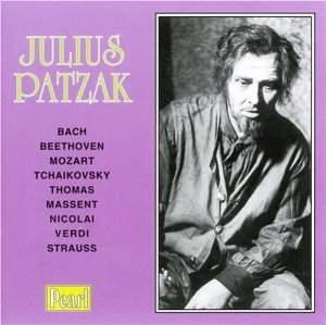 Julius Patzak - A Recital