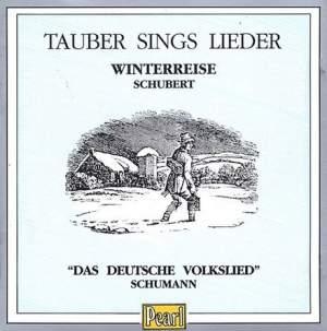 Tauber sings Lieder