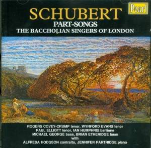 Schubert: Part Songs