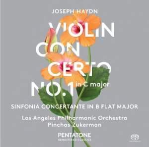 Haydn: Violin Concerto No. 1 & Sinfonia Concertante
