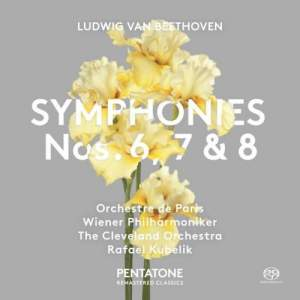 Beethoven: Symphonies Nos. 6, 7 & 8