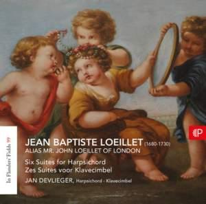 Loeillet: Six Suites for Harpsichord