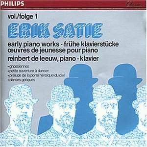 Satie: Early Piano Works Vol. 1