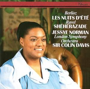 Berlioz: Les Nuits d'Ete & Ravel: Shéhérazade Product Image