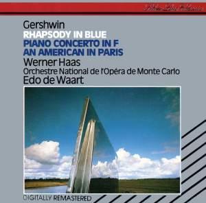 Gershwin: Rhapsody in Blue, An American in Paris & Piano Concerto in F