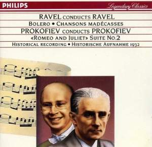 Ravel conducts Ravel&#x3B; Prokofiev conducts Prokofiev