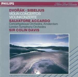 Dvorak & Sibelius: Violin Concertos