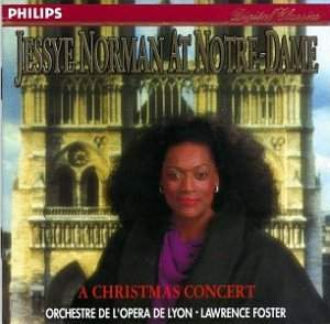 Jessye Norman à Notre Dame