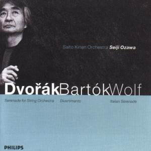 Dvorak, Bartók and Wolf: Orchestral Works