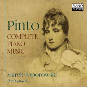 George Frederick Pinto: Complete Piano Music Product Image