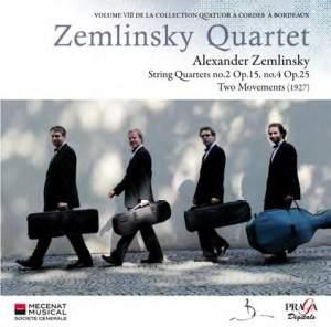 Zemlinsky: String Quartets Nos. 2 & 4