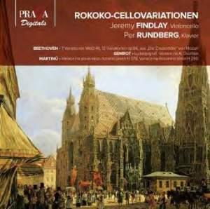 Rococo Variations for Cello & Piano
