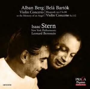 Isaac Stern plays Bartók & Berg