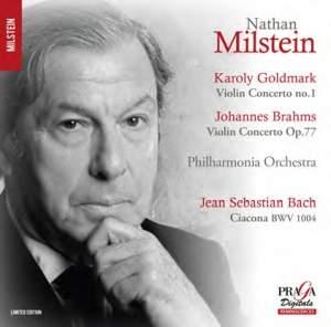 Goldmark & Brahms: Violin Concertos