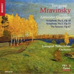 Glazunov: Symphonies Nos. 4 & 5 & The Seasons (Ballet Music)