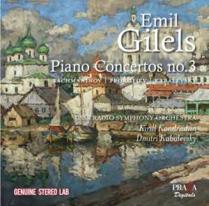 Emil Gilels plays Russian Piano Concertos