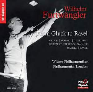 Wilhelm Furtwängler: From Gluck to Ravel