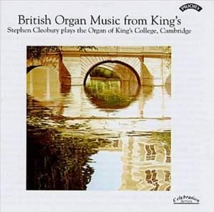 British Organ Music from King's