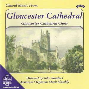 Alpha Collection Vol. 3: Choral Music from Gloucester Cathedral