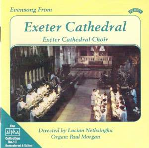 Alpha Collection Vol. 13: Evensong from Exeter Cathedral
