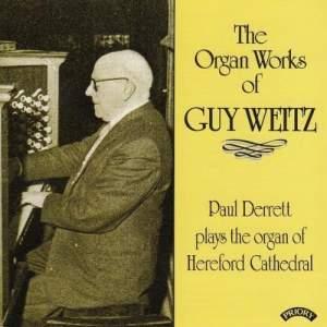 Organ Works of Guy Weitz (1883 -1970)